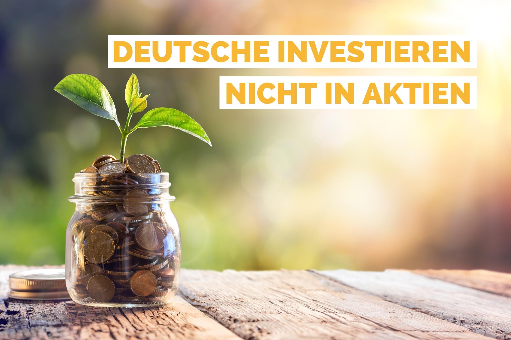 Deutsche investieren nicht in Aktien