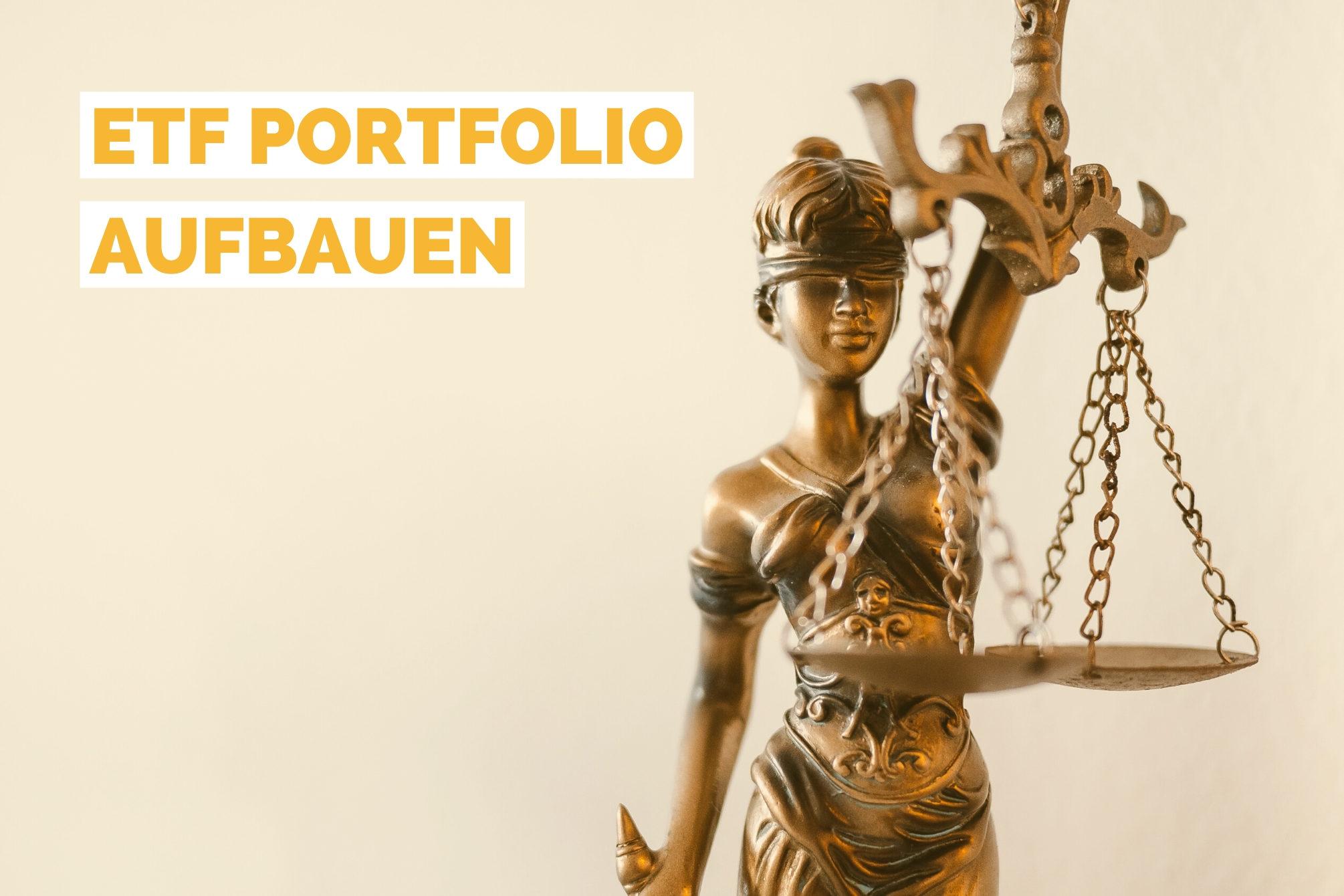 ETF Portfolio aufbauen