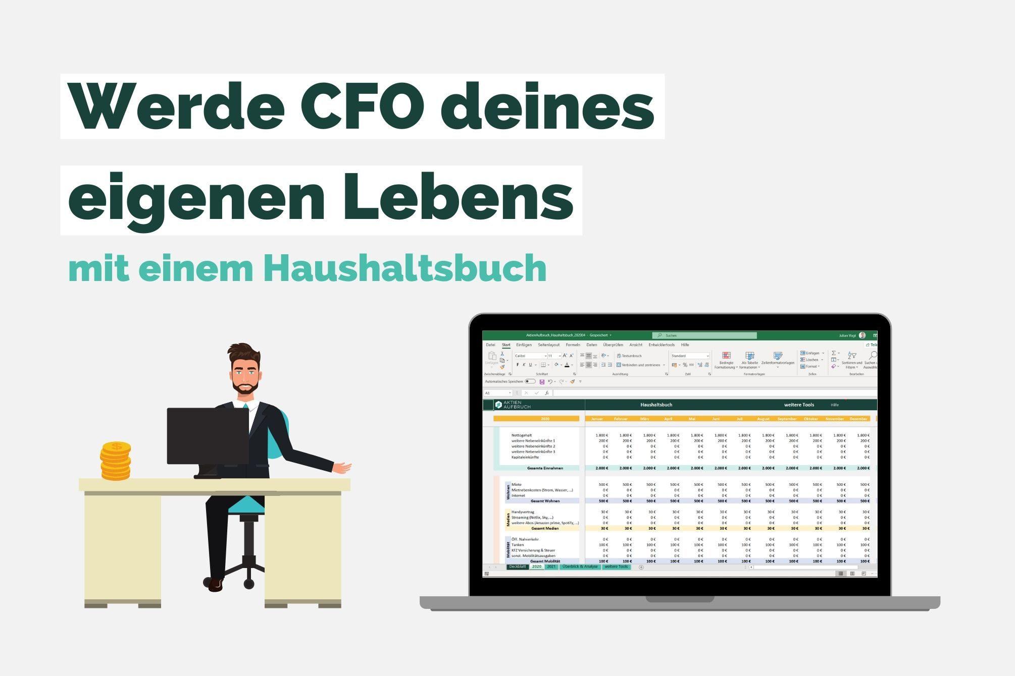 CFO deines Lebens - Haushaltsbuch
